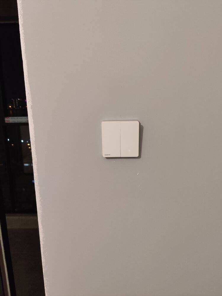 西门子开关插座面板16A三孔空调插座大功率睿致系列象牙白钛银睿智插座