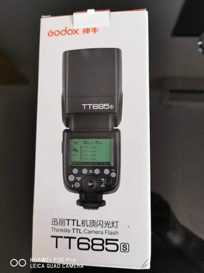 神牛(Godox)TT685S索尼版机顶闪光灯索尼外拍灯模特摄影灯闪光摄影器材