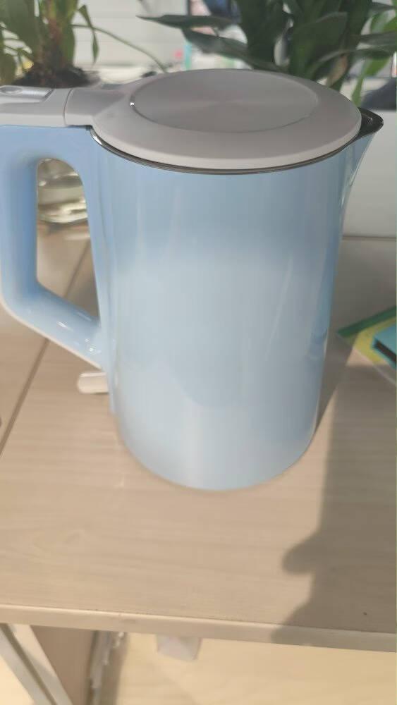 美的(Midea)电水壶热水壶304不锈钢家用电热水壶无缝内胆双层防烫便携式养生开水壶烧水壶SH15Q1-400K