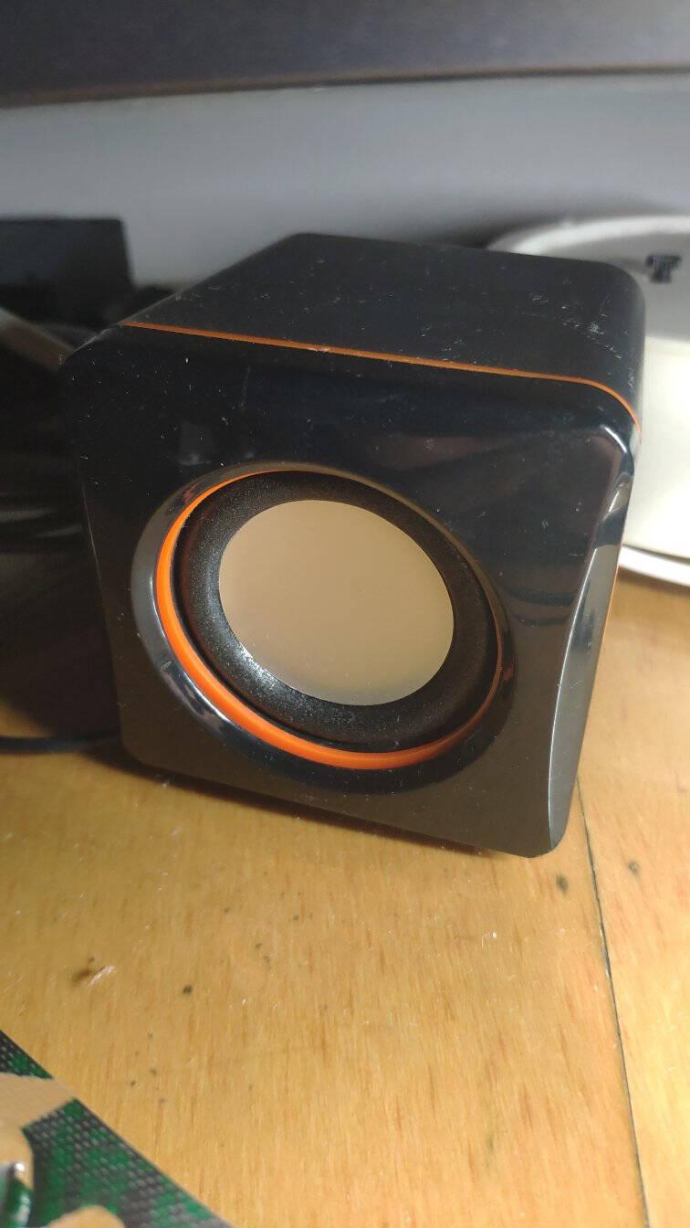 乐放(LOYFUN)LF-701音响2.0声道USB电脑便携式多媒体迷你小音箱笔记本桌面有线mini低音炮支付收款提醒
