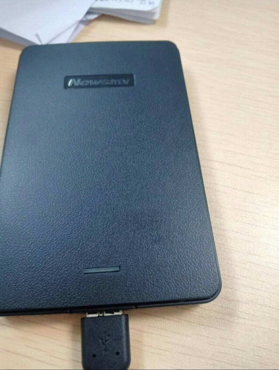 纽曼(Newsmy)500GBUSB3.0移动硬盘清风2.5英寸风雅黑文件数据备份海量存储稳定耐用