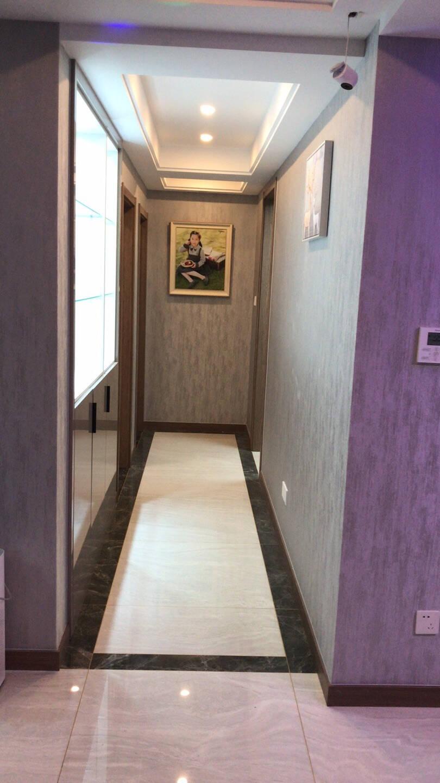 瑞尚免打孔电表箱装饰画北欧风格客厅房间卧室壁画有框画简约现代墙锦绣福鹿50*40可覆盖(横40竖30)