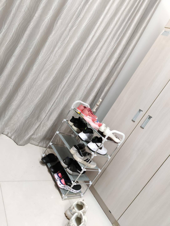 美家星鞋架收纳置物架层架多层简易组装鞋柜加固型