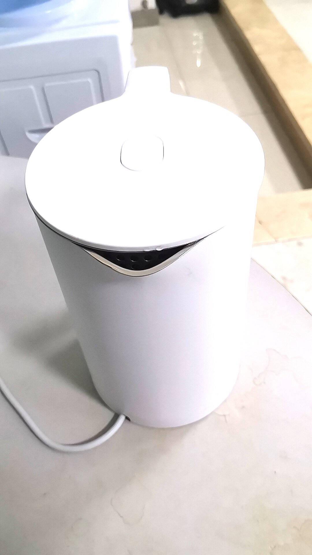 小米(MI)电水壶1A双层防烫304不锈钢烧水壶1.5升自动断电电热水壶米家水壶防干烧米家电水壶1A
