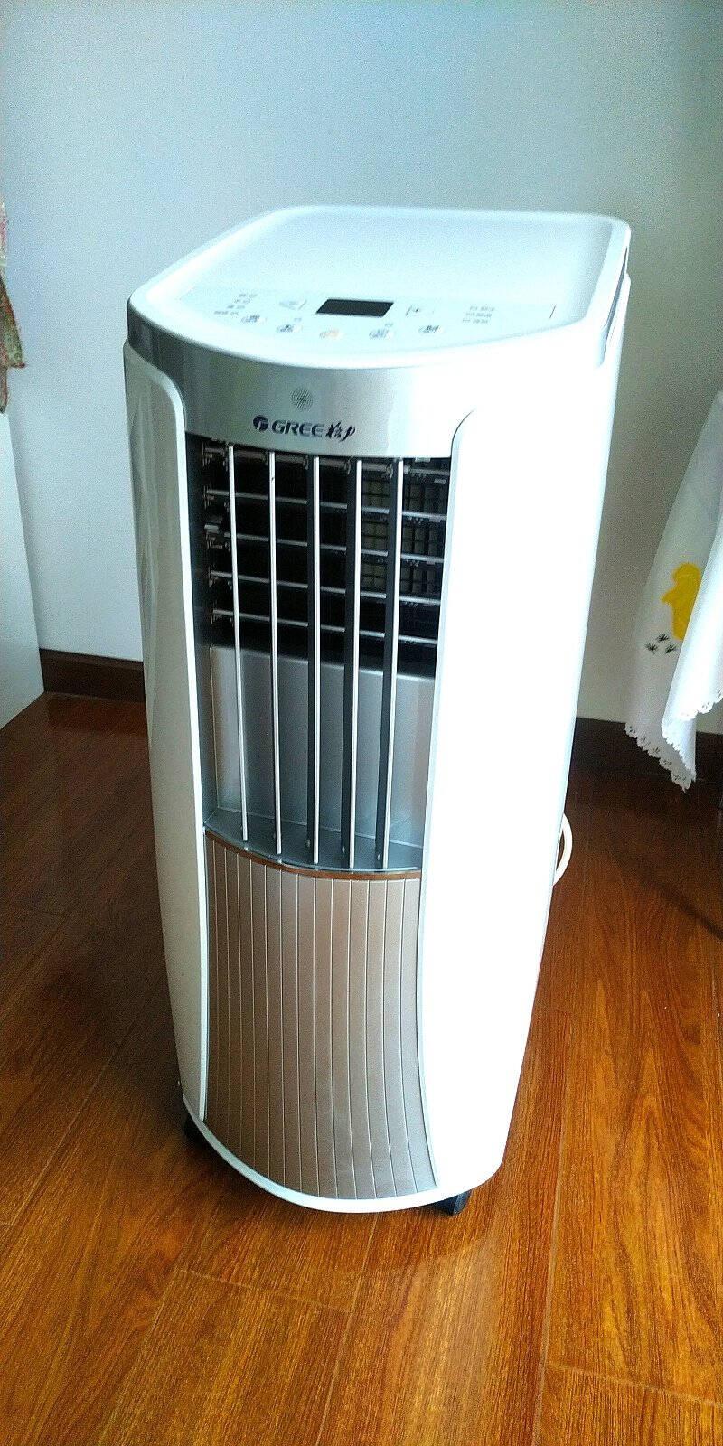 格力(GREE)小1匹P家用移动空调单冷制冷厨房空调免安装一体机智能遥控独立除湿KY-23NK