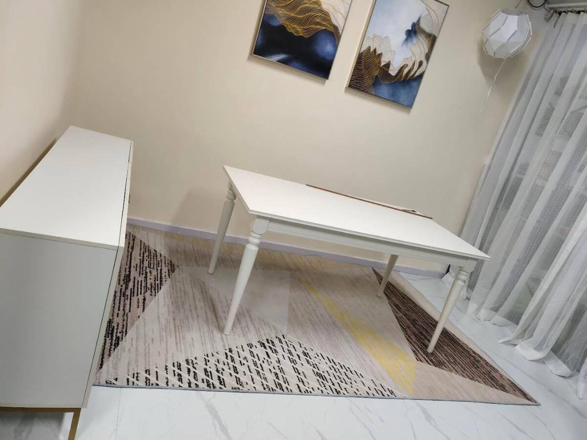 德柏尔地板革自粘PVC地板贴水泥地直接铺加厚耐磨防水地胶商用仿瓷砖大理石塑胶地板UV款525一片价格