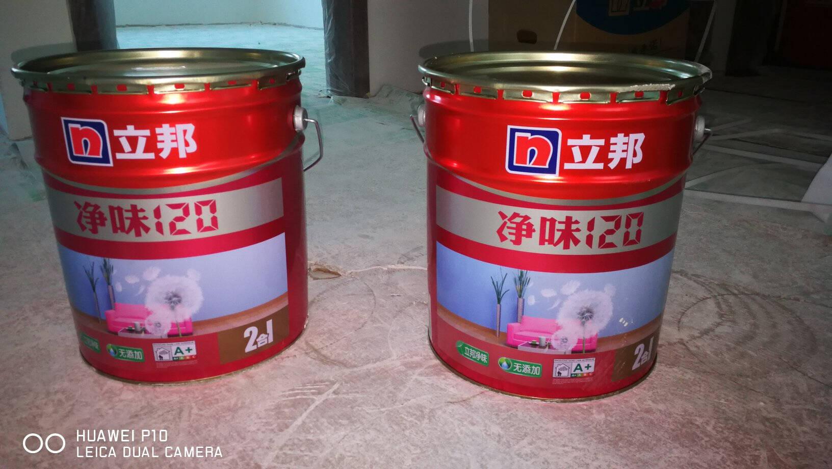 立邦漆净味120二合一无添加油漆涂料内墙乳胶漆墙面漆18L