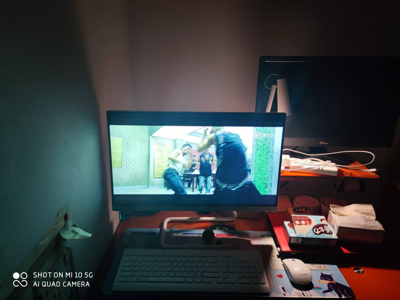 联想(Lenovo)AIO520C英特尔酷睿i5微边框一体台式机电脑23.8英寸(十代i5-1035G416G512GSSD无线键鼠)黑