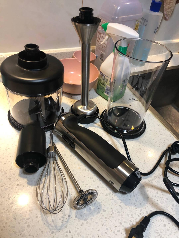 福腾宝(WMF)料理机手持式料理棒家用多功能婴儿辅食机搅拌机搅拌棒榨汁机打蛋榨汁切菜绞肉研磨奶泡