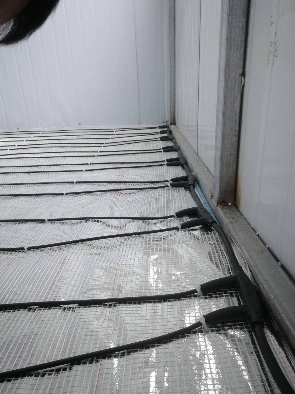 思予电地暖碳纤维发热电缆地热线发热线地暖线电地热220V家用24K进口全智能分区控制温如需单组联系客服(1组适用于1.5平米)