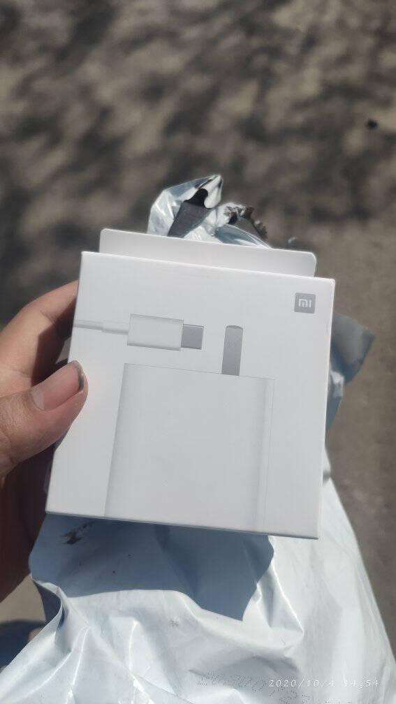 小米原装65W线充套装超级快充版(充电器+5A数据线)适用小米10pro红米redmi手机笔记本电脑原厂充电头