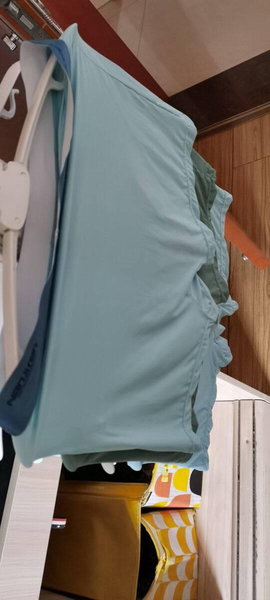 南极人男士内裤男冰丝无痕石墨烯抗菌四角裤夏季透气平角裤薄款短裤头3条装K3果绿+浅灰+浅蓝XL