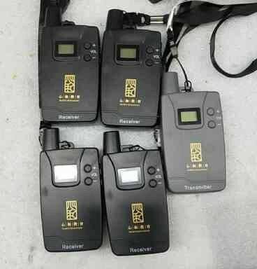 比西特(bcity)911R/711R无线讲解器一对多导游耳麦企业解说器系统挂脖式913R15位充电箱