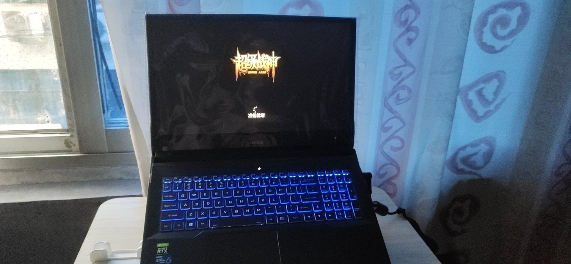 神舟战神16.1英寸笔记本,大屏幕玩游戏体验更好