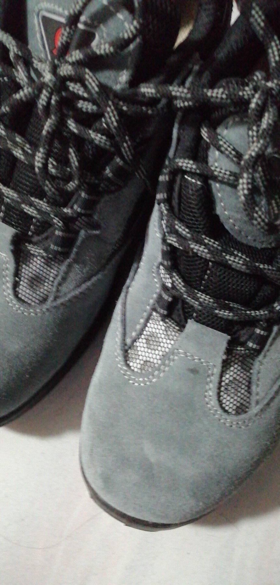 强人3515安全鞋6KV电绝缘防砸防刺穿劳保鞋高品质舒适透气功能防护鞋HY1631灰色42