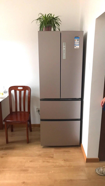 海尔冰箱变频一级能效家用法式四门多门双开门对开门风冷无霜电冰箱海尔出品统帅冰箱家电330升