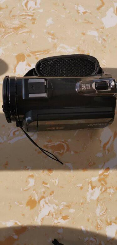 欧达摄像机4K专业直播摄影机手持数码DV录像机高清电影机电商直播家用旅游会议vlog小视频标配+电池+128G高速卡+4K广角+充电麦