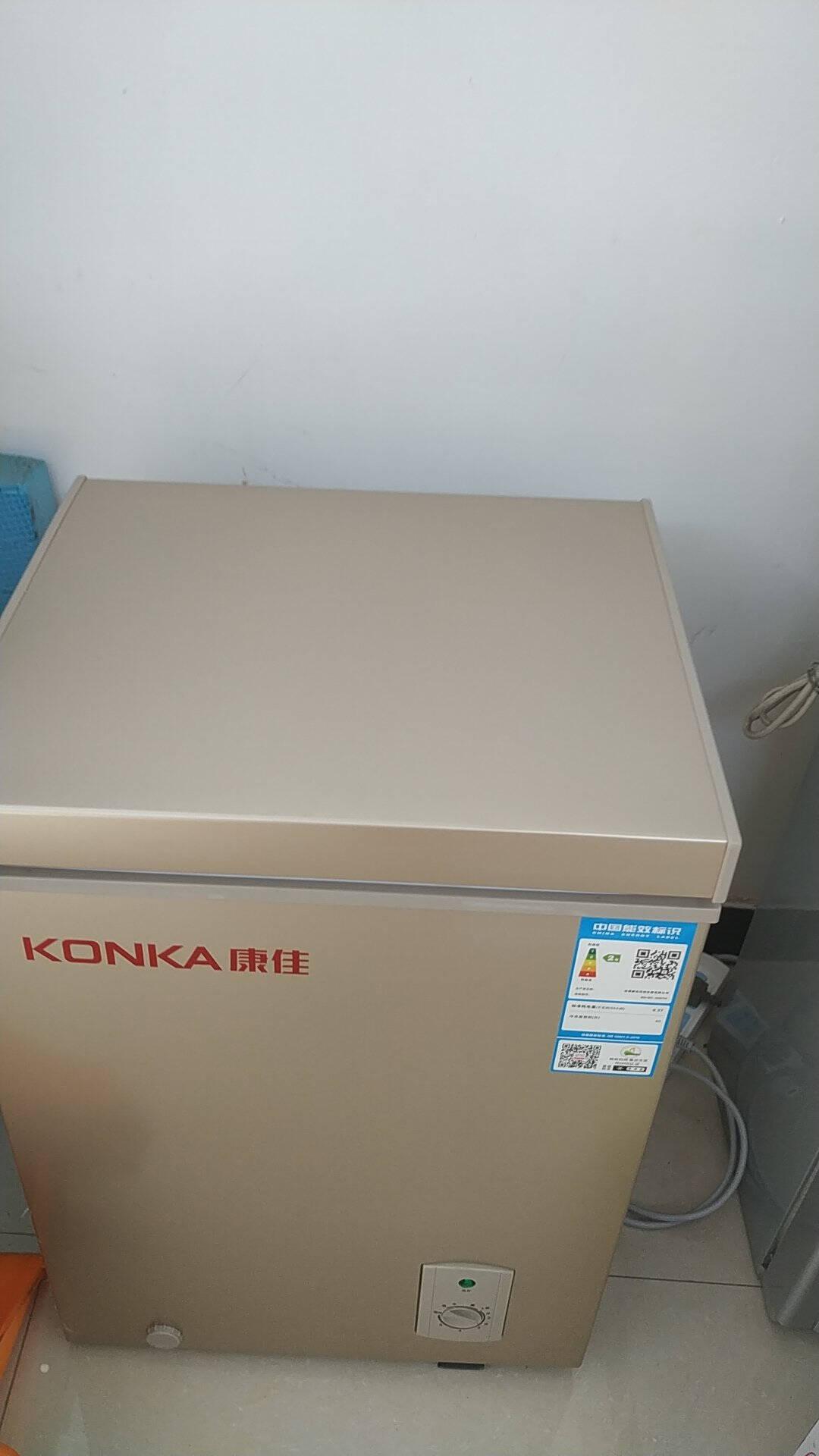 康佳(KONKA)40升单门小冷柜冷藏冷冻节能单温家用母乳小冰箱顶开门卧式迷你小型冰柜BD/BC-40DTH