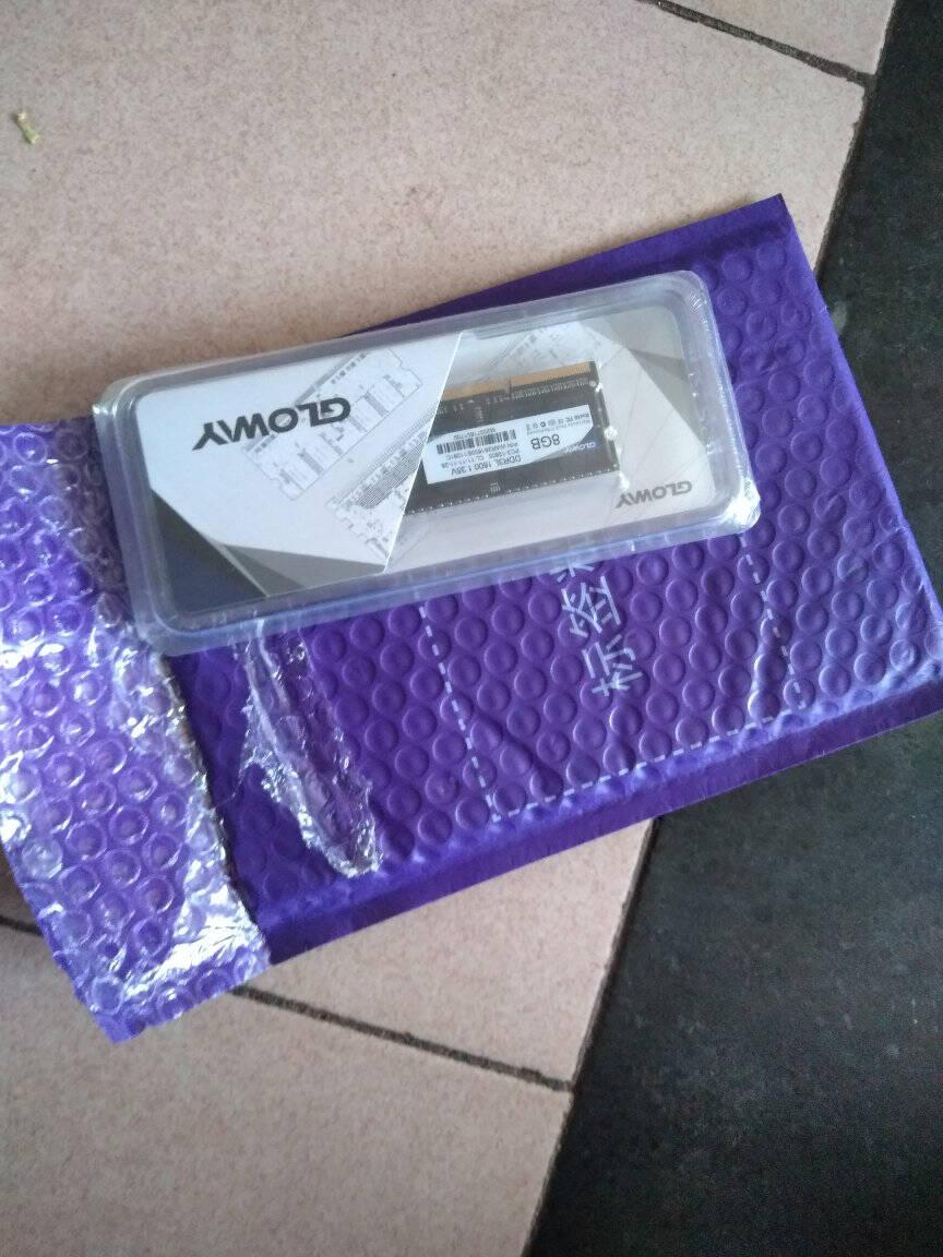 光威(Gloway)8GBDDR3L1600笔记本内存战将系列-低电压版/精选颗粒
