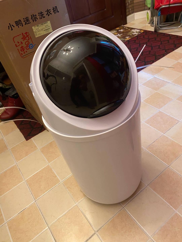 小鸭3.8公斤小型家用半自动迷你洗衣机宝宝婴儿童洗衣机小单筒WPF3818T白色