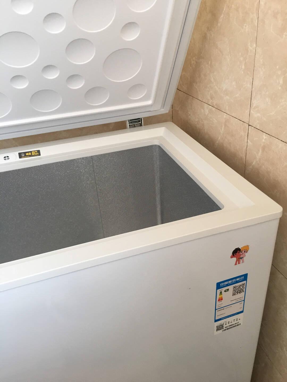 海尔(Haier)203升低霜家用冷柜冷藏冷冻转换冰柜节能单温母婴母乳小冰箱BC/BD-203HTD