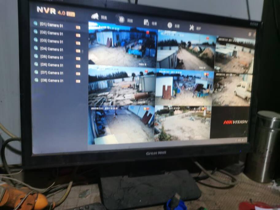 海康威视(HIKVISION)监控摄像头室外套装高清800万星光级夜视4K带硬盘录像机网络摄像机室内12个摄像头+16路录像机带3T硬盘