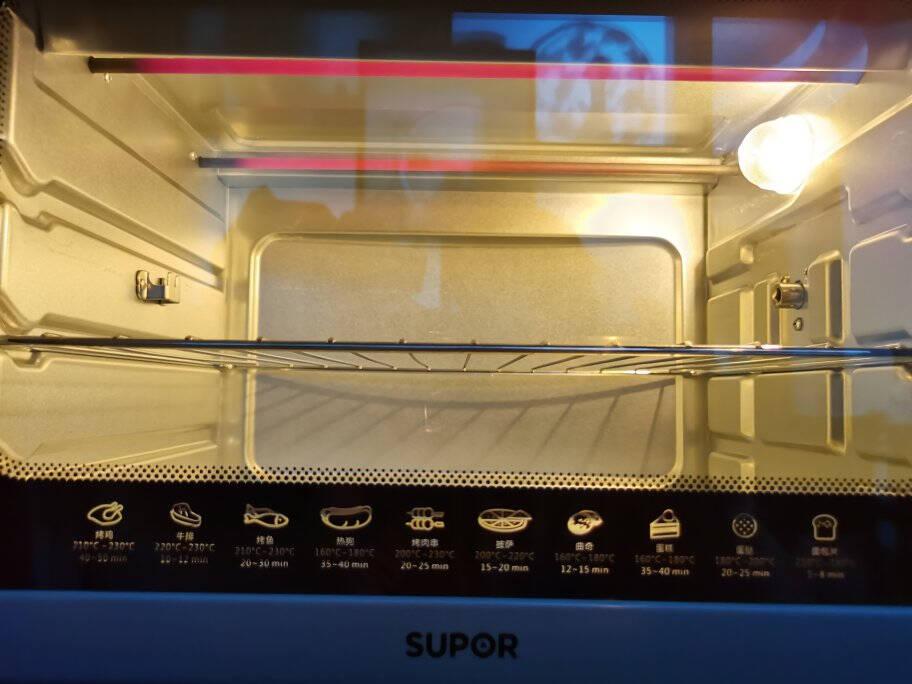 苏泊尔(SUPOR)家用大容量35L电烤箱带旋转烤叉上下独立温控易操作K35FK609