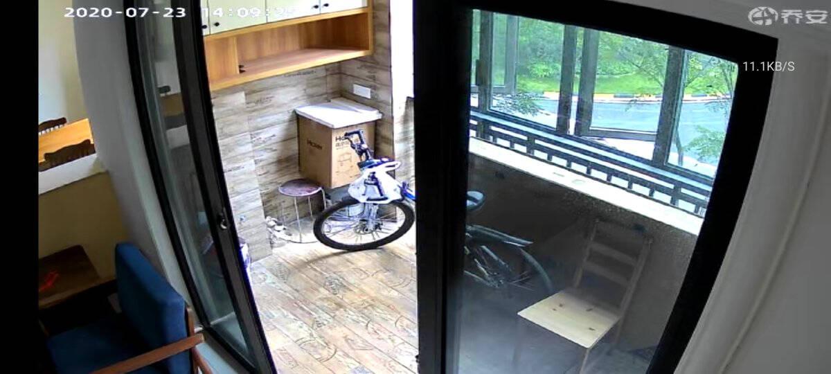 乔安(JOOAN)360度全景摄像头家用高清室外球机网络手机远程4G流量监控器4G摄像头