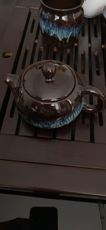 龙寅茶具套装建盏陶瓷家用功夫整套茶具茶杯普洱简约中式礼盒装茶具窑变钧窑整套茶具