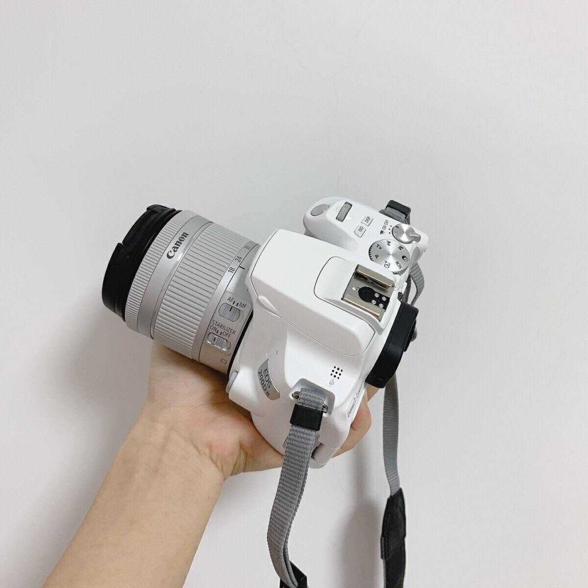 佳能(CANON)EOS200D/200d2代/二代入门级单反相机vlog数码照相机黑色200DII+(18-135mmIS镜头)套餐四