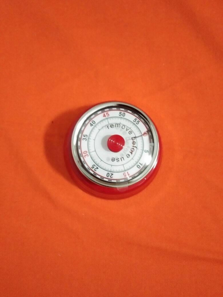时间管理器学生学习提醒器工作效率定时器计时器磁吸机械式钟式番茄色