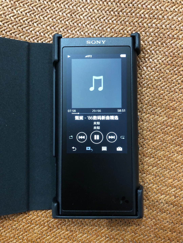 索尼Hi-Res高解析度播放器,送给喜欢音乐的朋友礼物