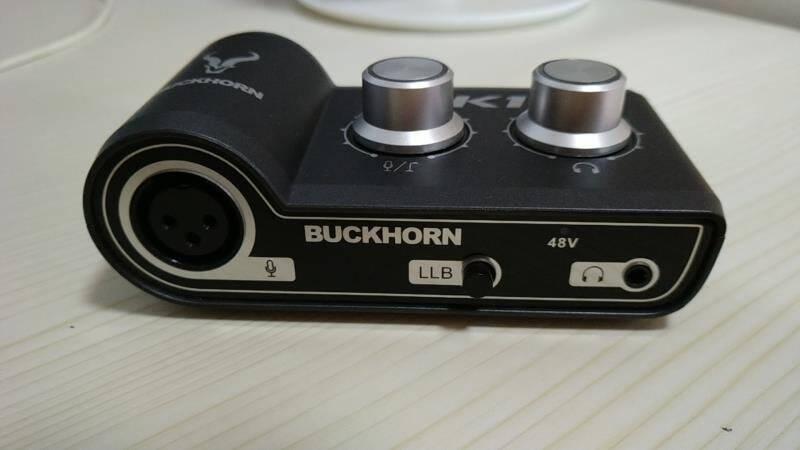 Buckhorn跳羚k1声卡USB外置声卡手机电脑网红主播录音直播K歌专用