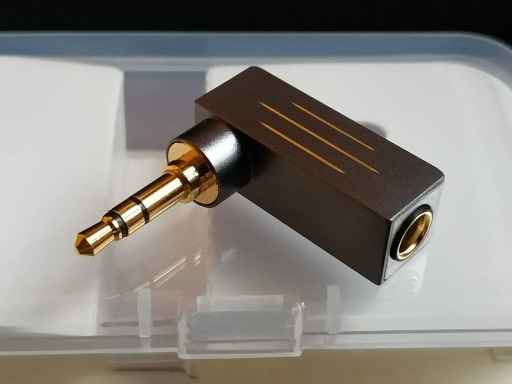 凯音(Cayin)Cayin凯音斯巴克PH-35X转接线3.5mm公转4.4mm母平衡转接头