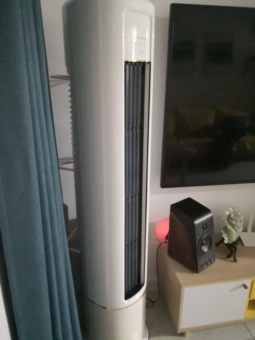 华凌空调美的出品2匹一级能效空调立式冷暖变频智能WIFI客厅圆柱空调立式柜机KFR-51LW/N8HB1