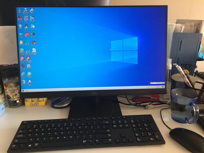 戴尔dell成就5890商用办公台式机电脑主机(11代i5-11400F16G256G+1T2G独显三年服务)+23.8电脑显示器