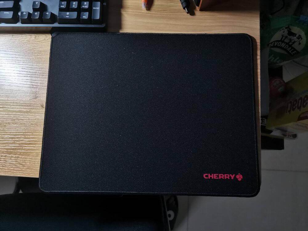 樱桃(Cherry)G80Medium网格纤维操控中号鼠标垫黑色