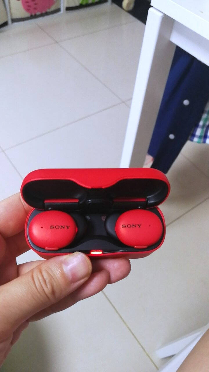 索尼(SONY)WF-H800真无线蓝牙立体声耳机长久续航苹果/安卓适用黑色