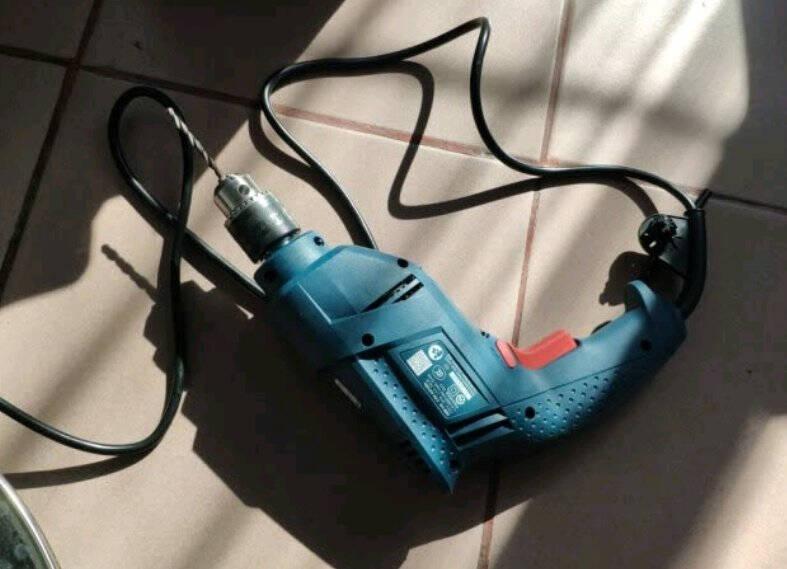 博世(BOSCH)GBM345KLE手电钻多功能345瓦电动螺丝刀手枪钻自锁夹头含23件附件套装