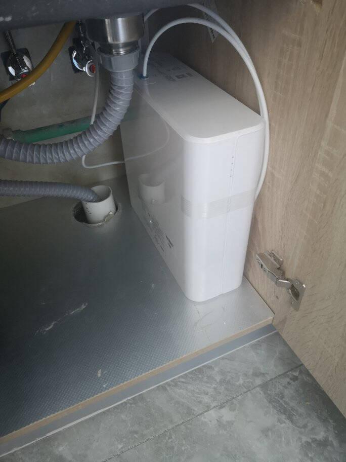 美的(Midea)华凌净水器机家用直饮前置过超滤器机无罐MU151-4