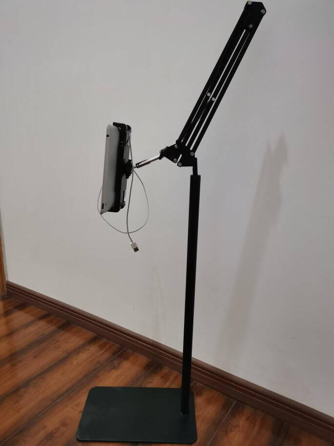 良浦手机支架落地ipad懒人支架床头平板电脑手机三脚架网课直播拍摄拍照自拍可俯拍支撑平板架子LS-6X