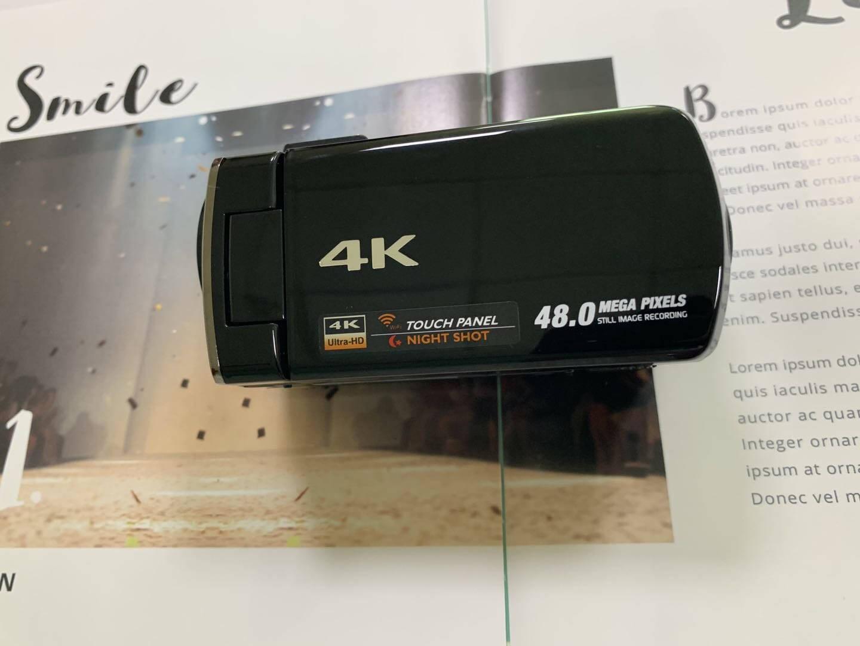 松典514KDV摄像机4K家用摄影机高清专业户外数码录像机手持便携128G+广角镜