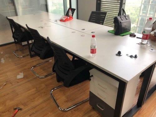 思芙美老板桌办公家具老板桌办公桌椅组合现代简约板式大班台主管桌经理桌总裁桌2.0m老板桌