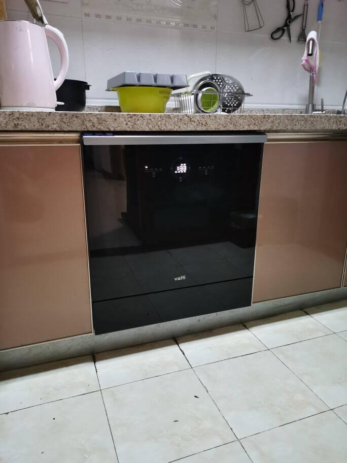 华帝(VATTI)洗碗机家用嵌入式无残水纯干态10套三层喷淋双倍烘干全自动洗碗除菌刷碗机JWV10-E3