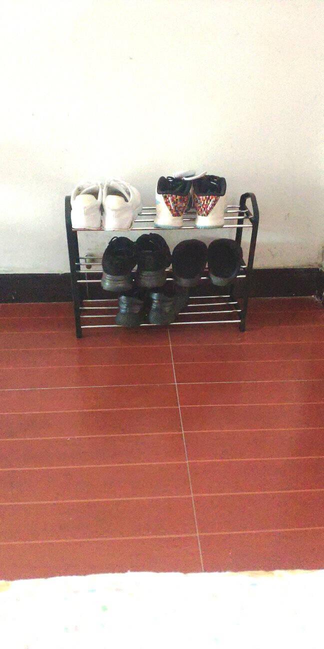 蜗家鞋架多层置物架宿舍寝室家用门口门后浴室收纳架浴室拖鞋架小鞋架子K573