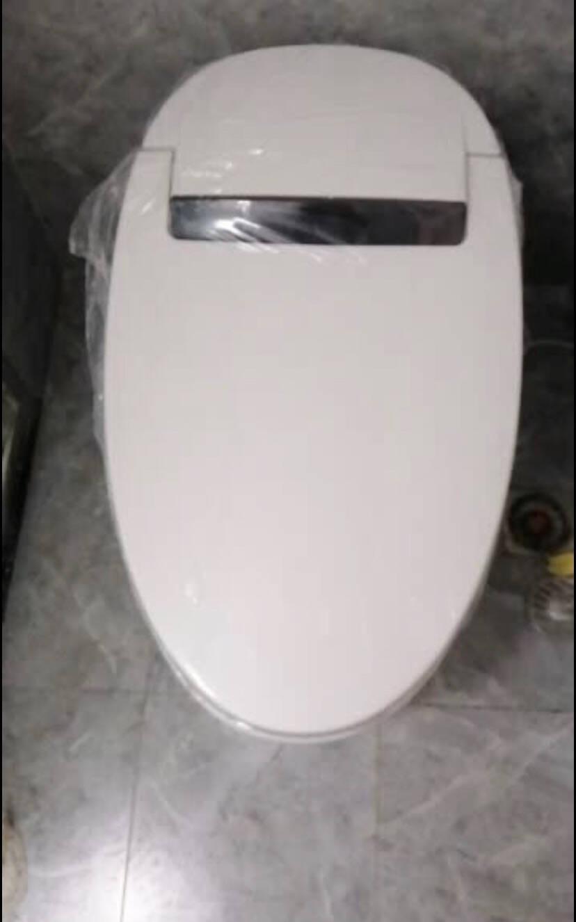 赛诺纳美智能马桶一体式坐便器即热式无水箱全自动冲洗烘干坐便器【基础款】-脚感冲水(300/400坑距可选)