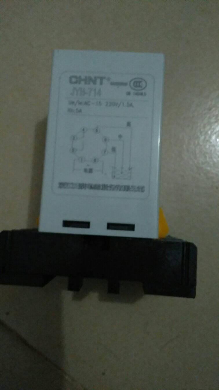 正泰(CHNT)正泰液位继电器全自动水位控制器液位控制器水泵开关水塔水池500米液位继电器220V
