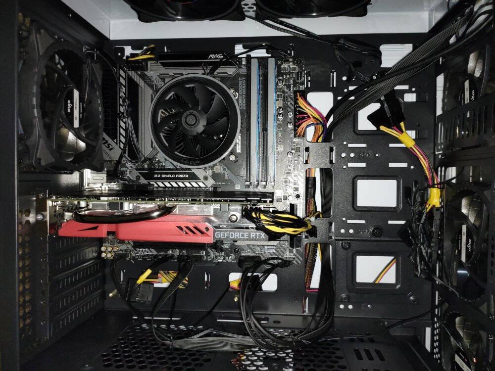 微星十代主板套装CPU处理器i510400F1050010600KF电脑替i78700K散片微星B460M迫击炮板U套装i510400F6核12线程2.9Ghz