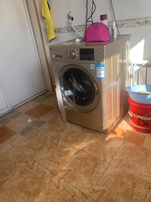 小天鹅(LittleSwan)洗衣机滚筒全自动10公斤kg变频家用滚筒TG100V22DG