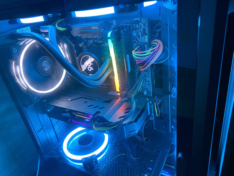 京天新十代酷睿i710700F/RTX2060/16G内存吃鸡游戏台式电脑主机/DIY组装机